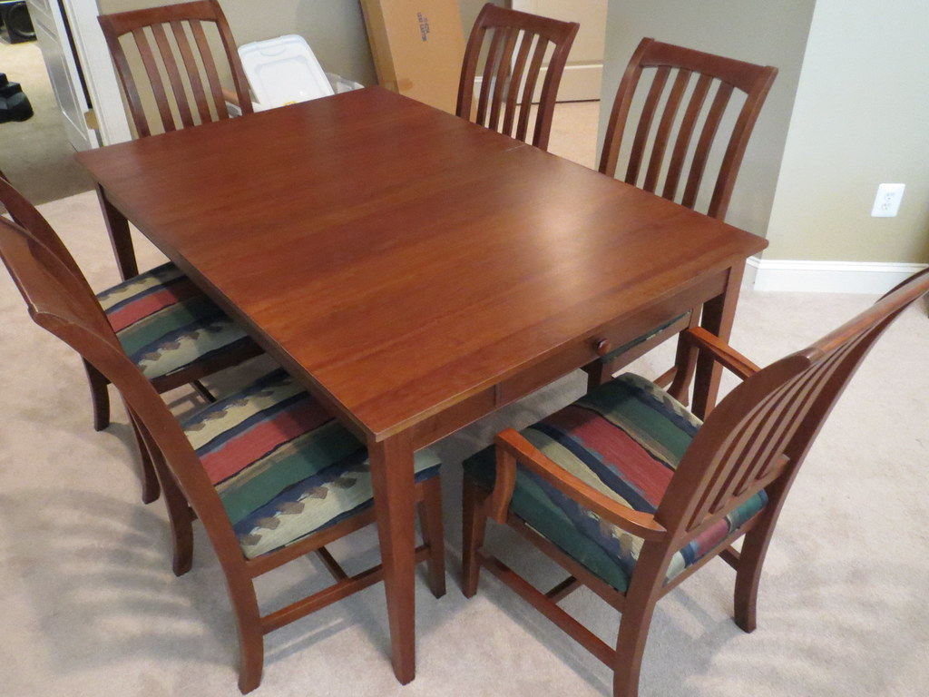 Ethan Allen American Impressions Dining Table 1 Seven