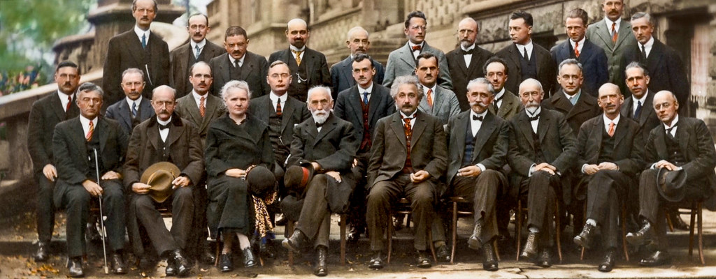 From The October 1927 Fifth Solvay International Conferenc