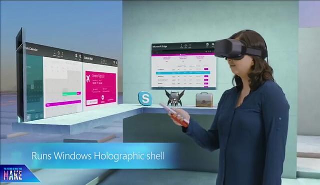 Esta es la propuesta de realidad virtual de Microsoft.