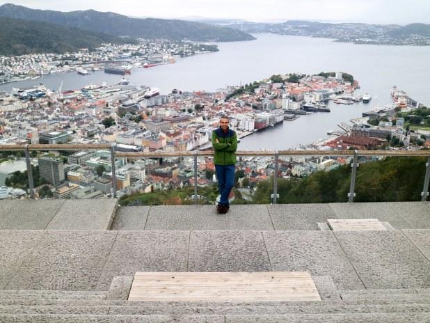 Monte Fløyen en Bergen