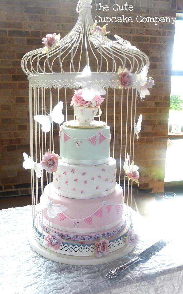 Vintage Tea Party Wedding One Of Todays Wedding Cakes