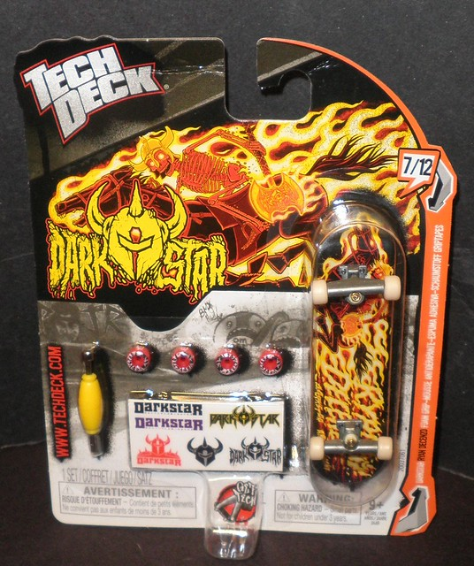 Dark Star Tech Deck Fingerboards