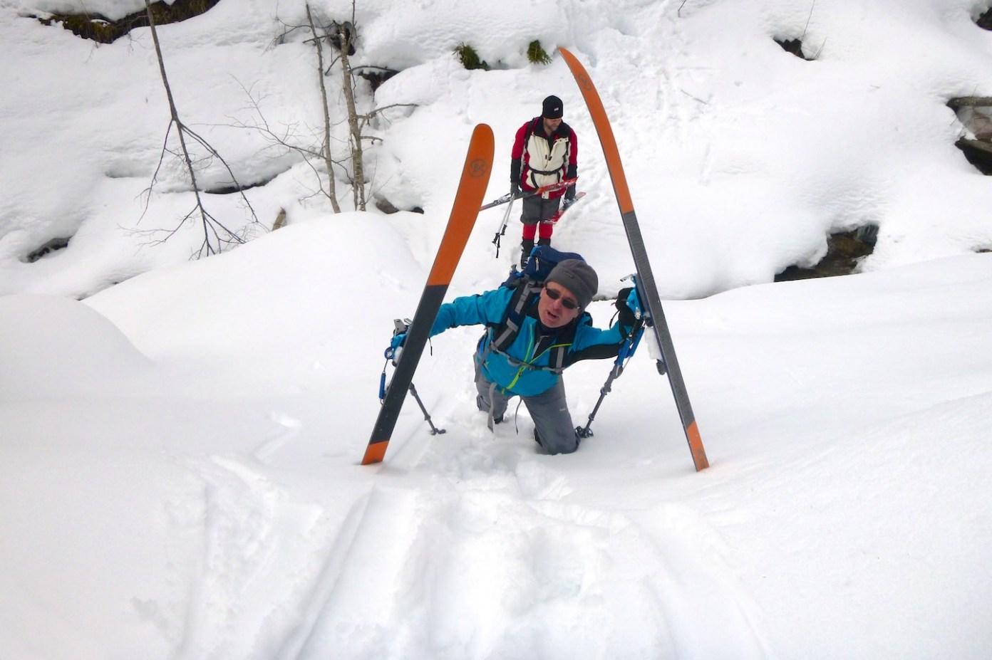 Takové je backcountry lyžování