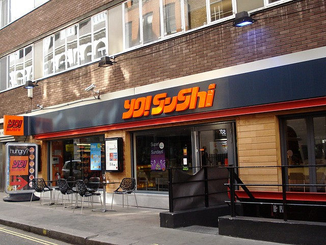 Sushi Restaurant Soho London