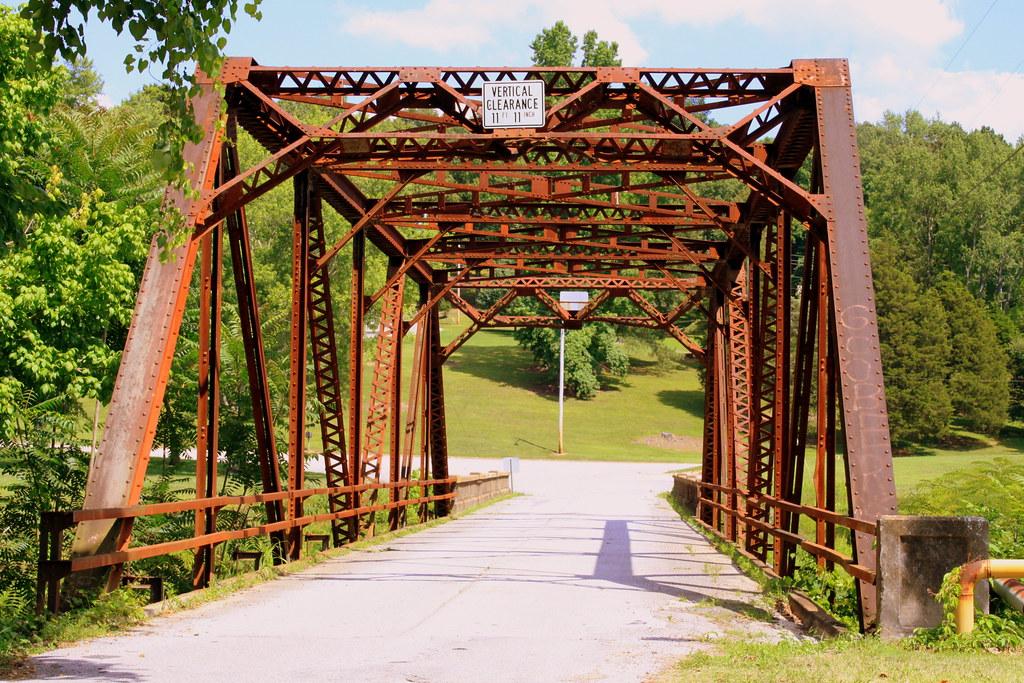 Shoal Creek Bridge Lawrenceburg TN This 1933 Bridge