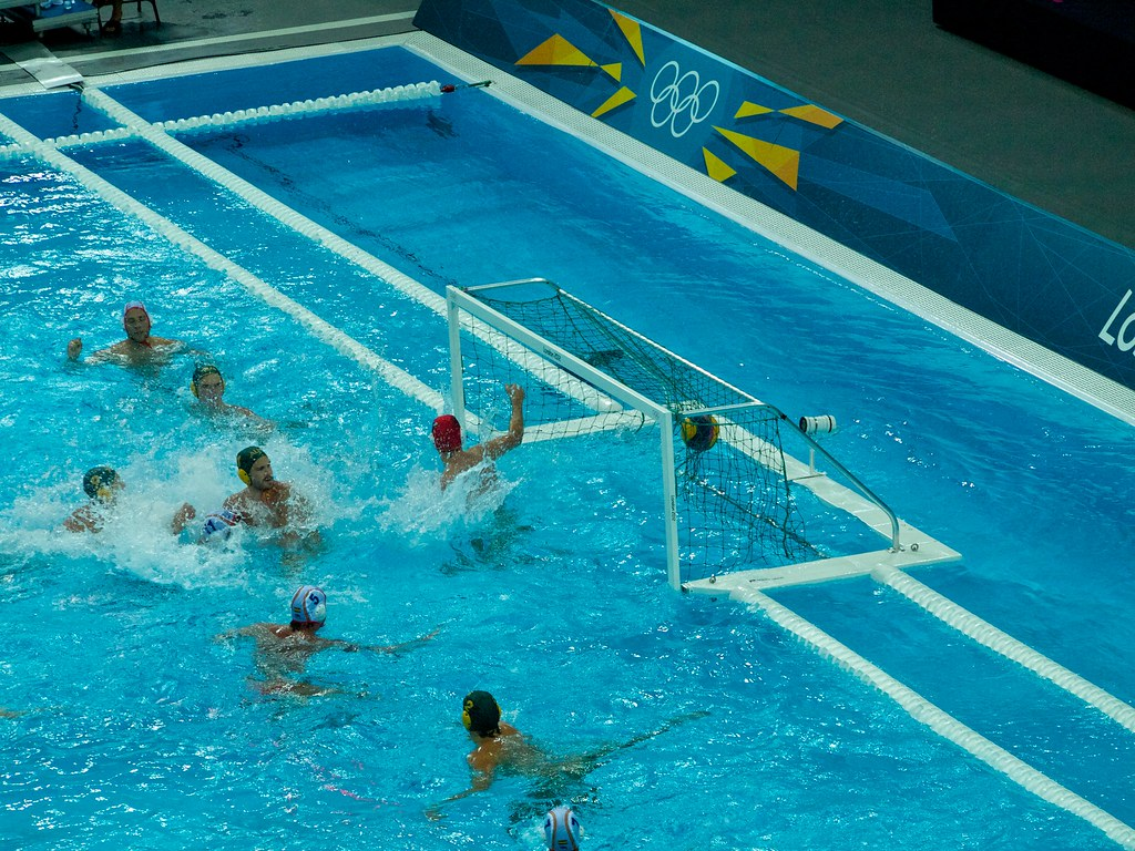 Water Polo Goal 2 Adam Russell Flickr