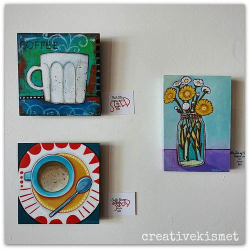 Regina Lord Art at Tucson Coffee Roasters