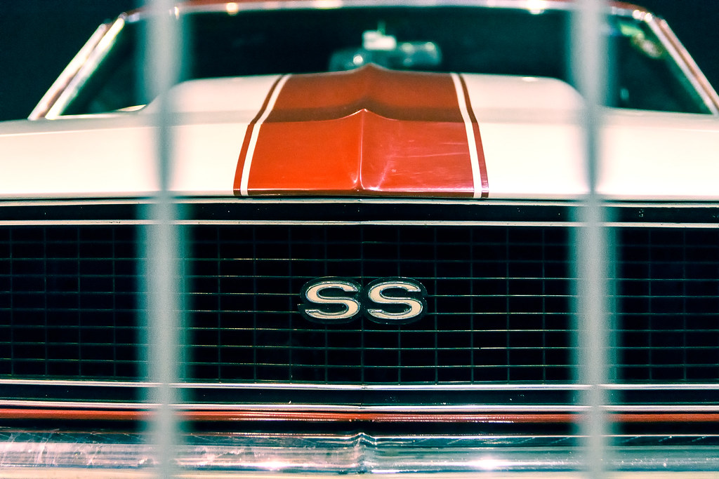 Chevy Camaro SS Exposición zero300