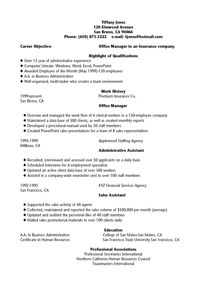 Resume Writing Samples For High School Students. Resume Examples