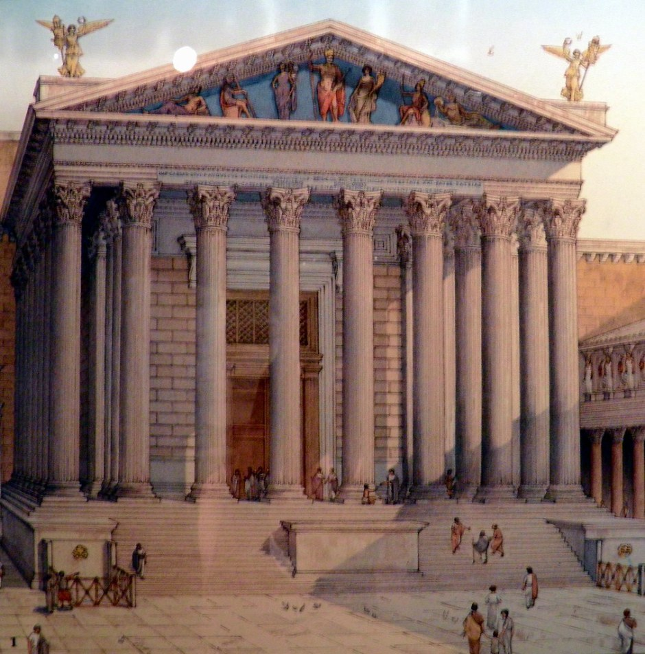 Templo de Marte Vingador, Fóruns Imperiais, Roma