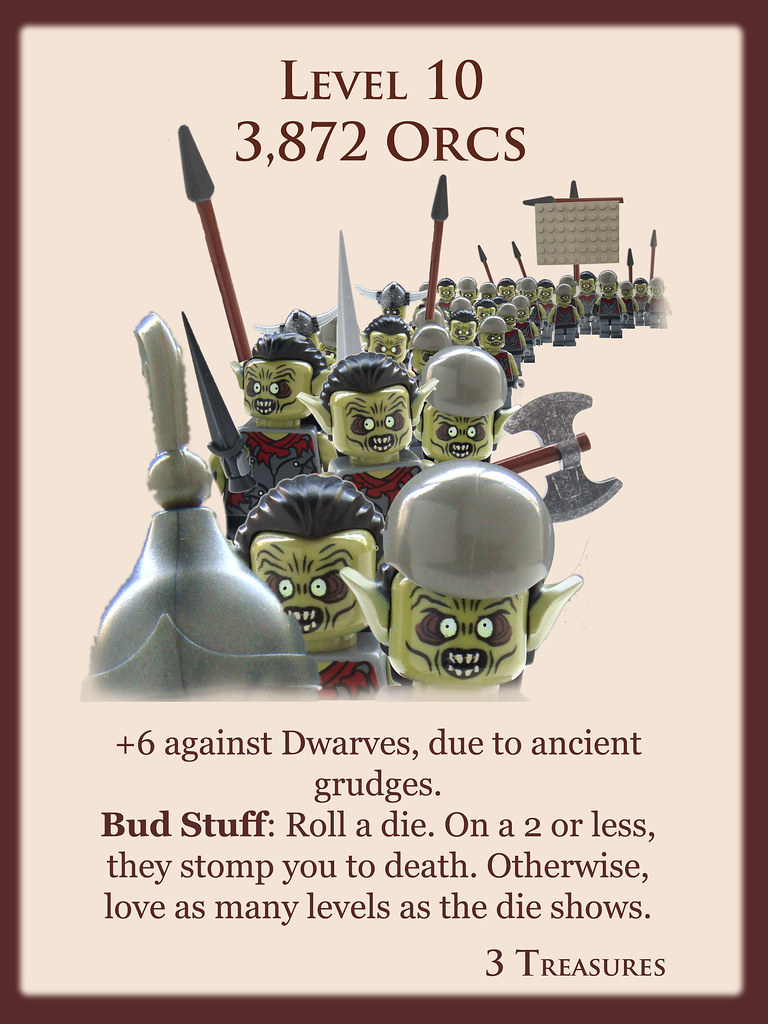 Level 10 3872 Orcs Another In My Series Of Brick A