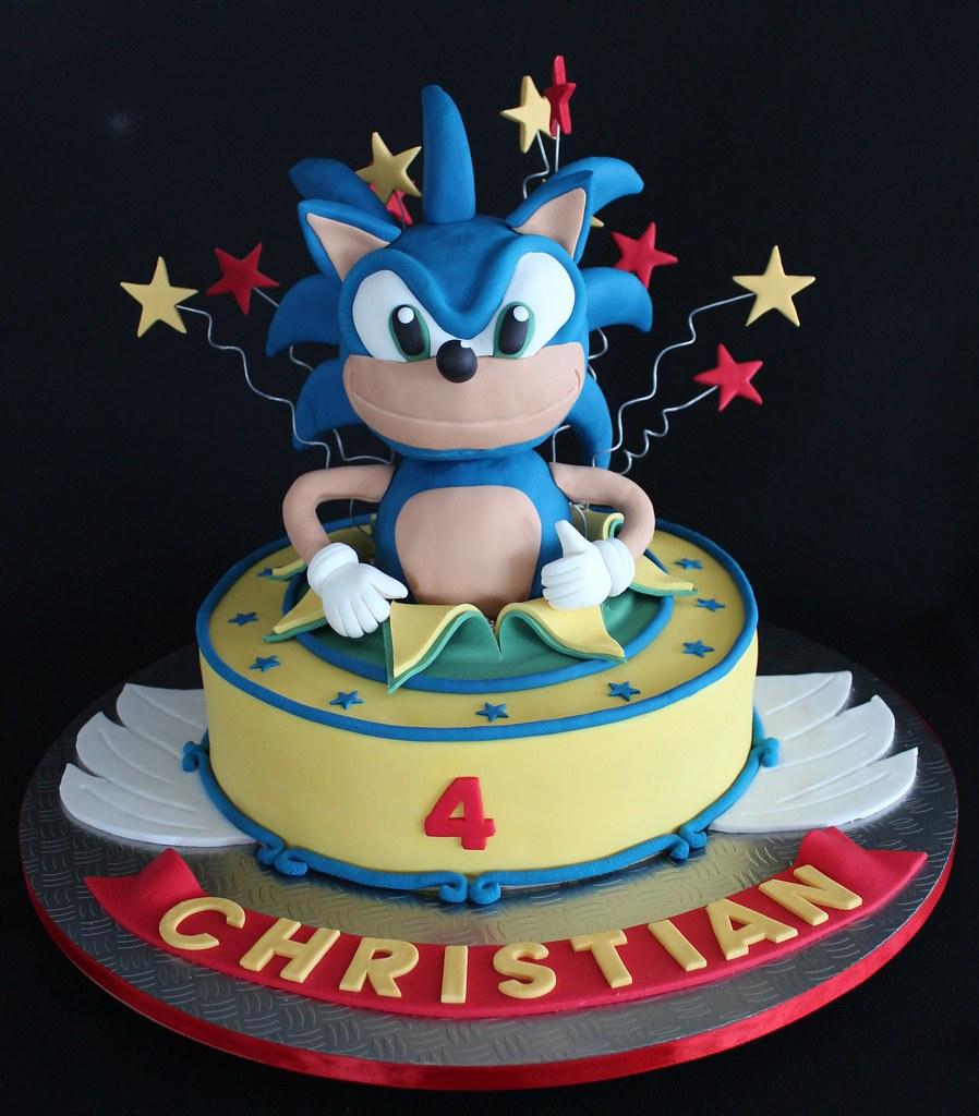 Sonic The Hedgehog Birthday Cake Pan