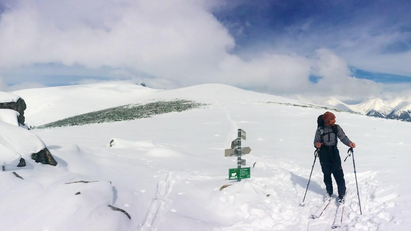 První vrchol Repenstein (1956m)