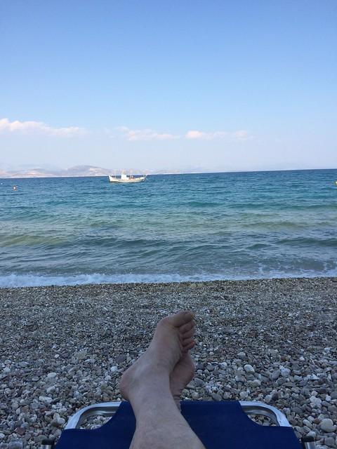 Sosta al mare in Grecia