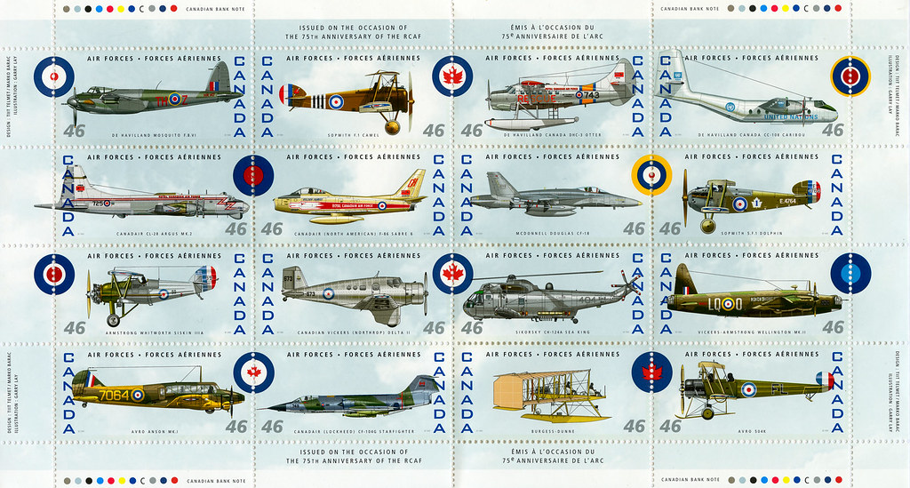 RCAF 75 YEAR ANNIVERSARY 1999 WHO SAYS CANADA