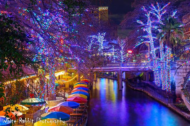 Riverwalk Christmas Lights