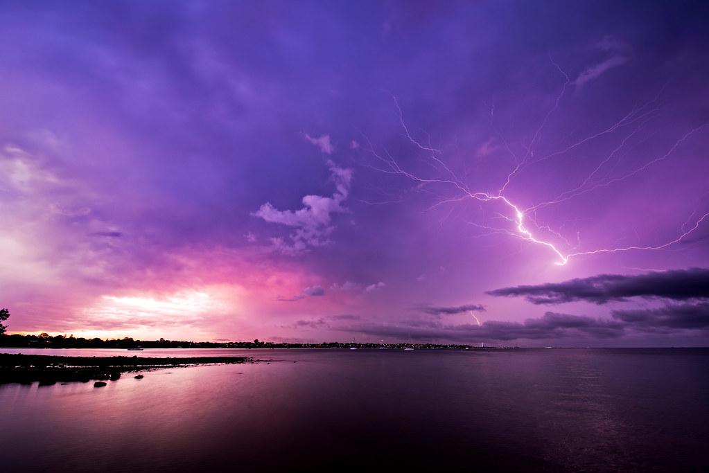 Lightning Sunset Gold Coast Australia Nikon D800 169 Luke