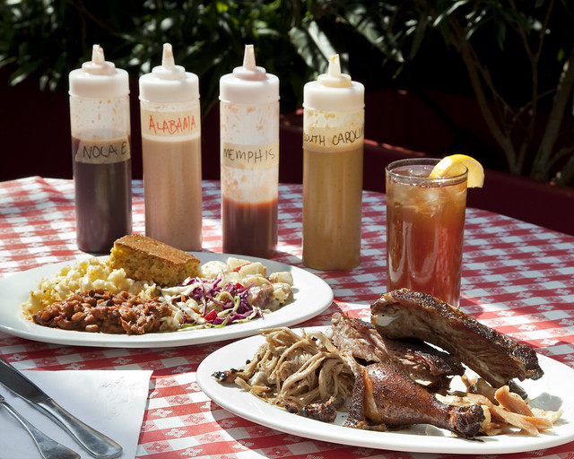 Louisianna barbecue is a good alternative after checking into your Lafayette, Louisiana Booked Hipmunk Hotel.