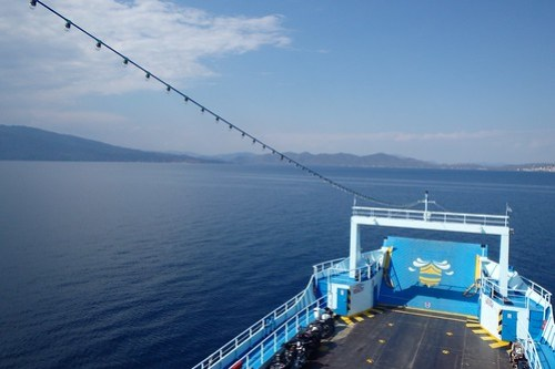 Il traghetto per Edpsou