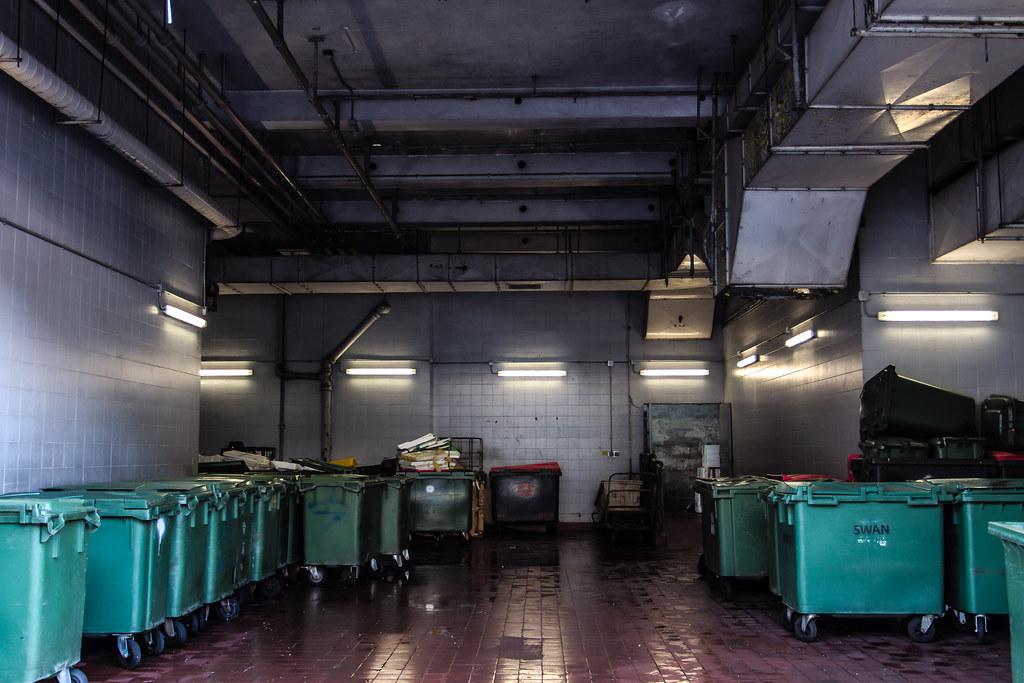死園總部之形 Deadyard Headquarters Forms 中國香港馬鞍山頌安商場垃圾房 Garb