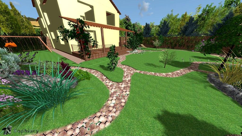 Exterior Garden Design