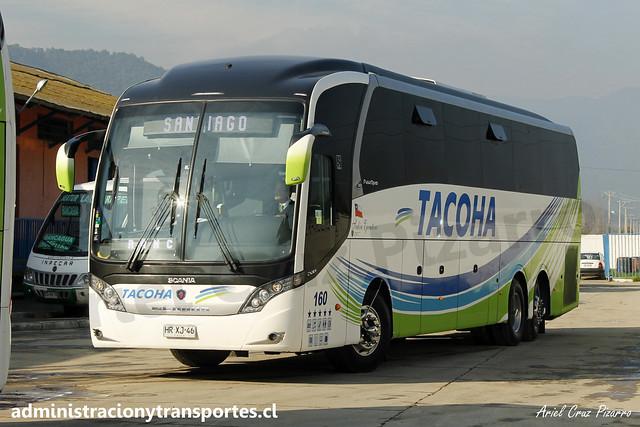 Buses Tacoha | Las Cabras | Neobus New Road N10 380 - Scania / HRXJ46 - 160 Vanidosa