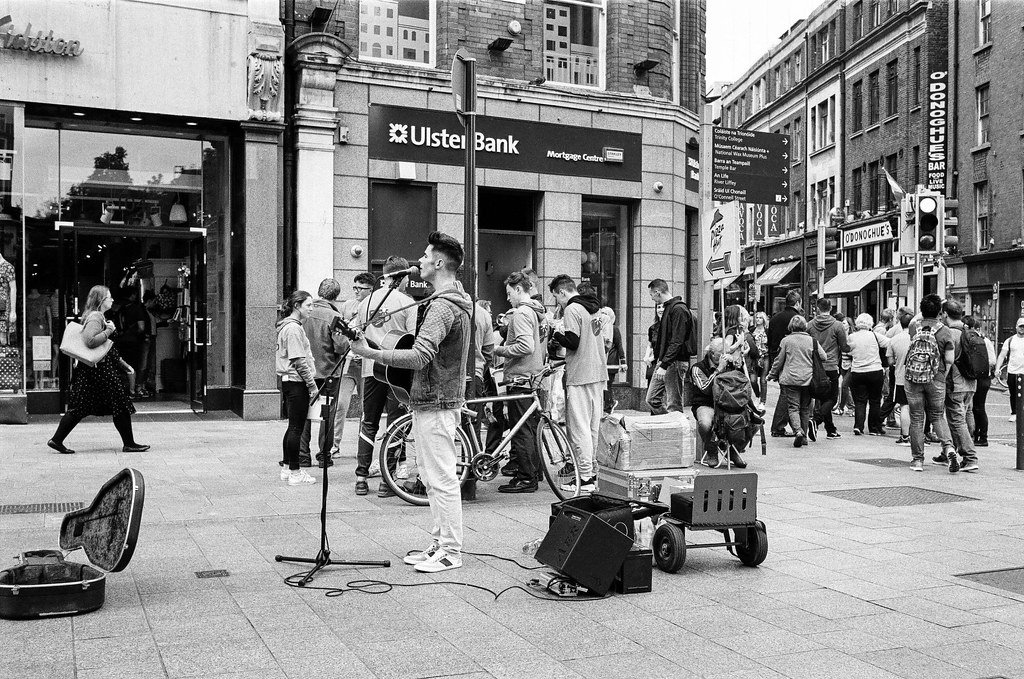Dublin on Kodak T-Max 400 film