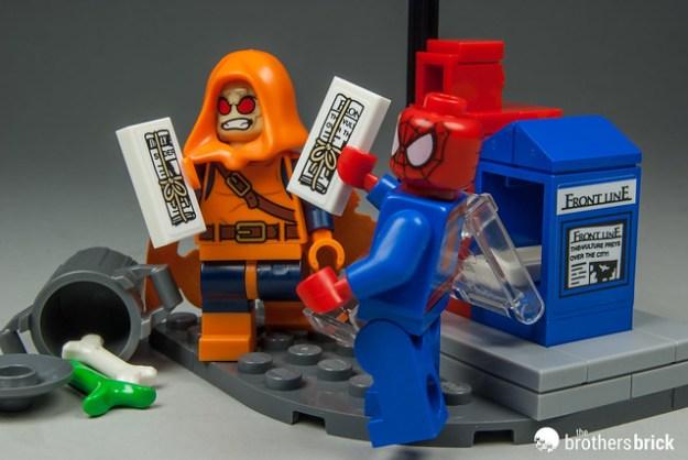 LEGO Marvel Super Heroes 76058 Spider-Man: Ghost Rider Team-up ...