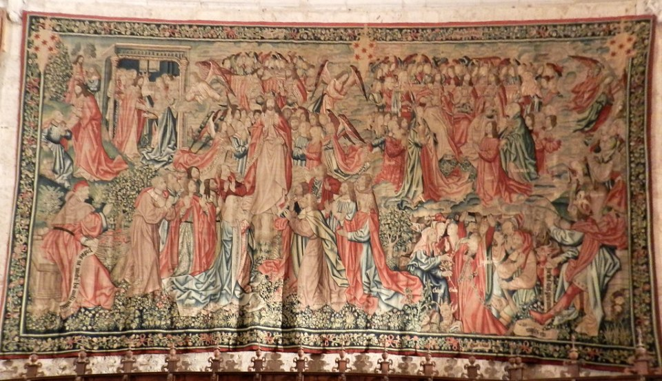 Tapices en el Museo de la Catedral San Antolín Palencia 05