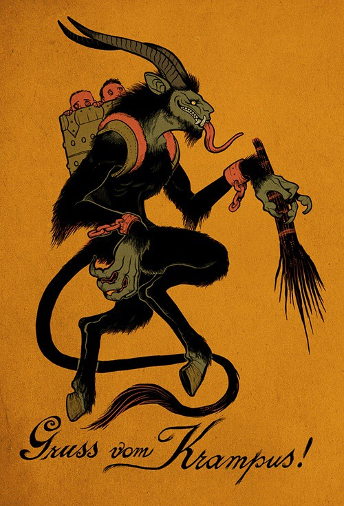 Gruss Von Krampus Sean Gillies Flickr