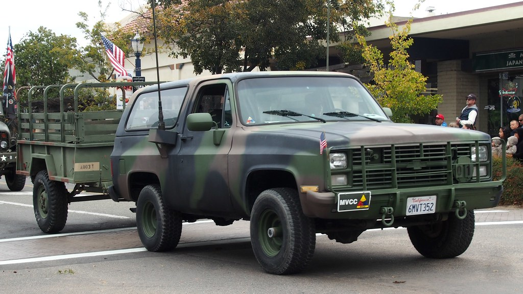 Chevrolet Blazer M Radio Truck With Trailer