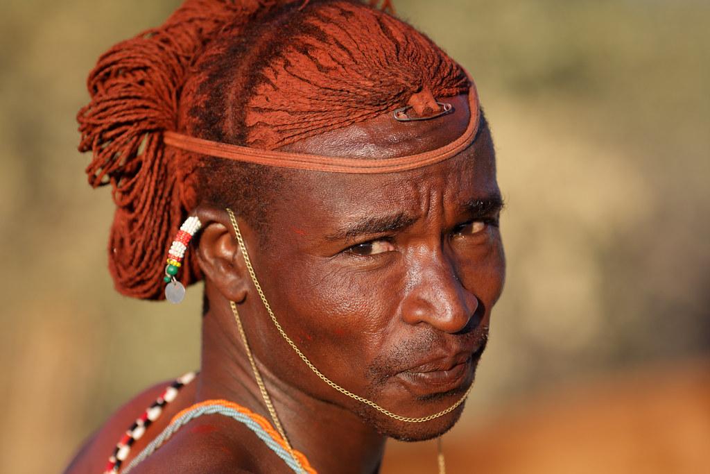 Kenya Samburu Warrior Moran Samburu Warrior With