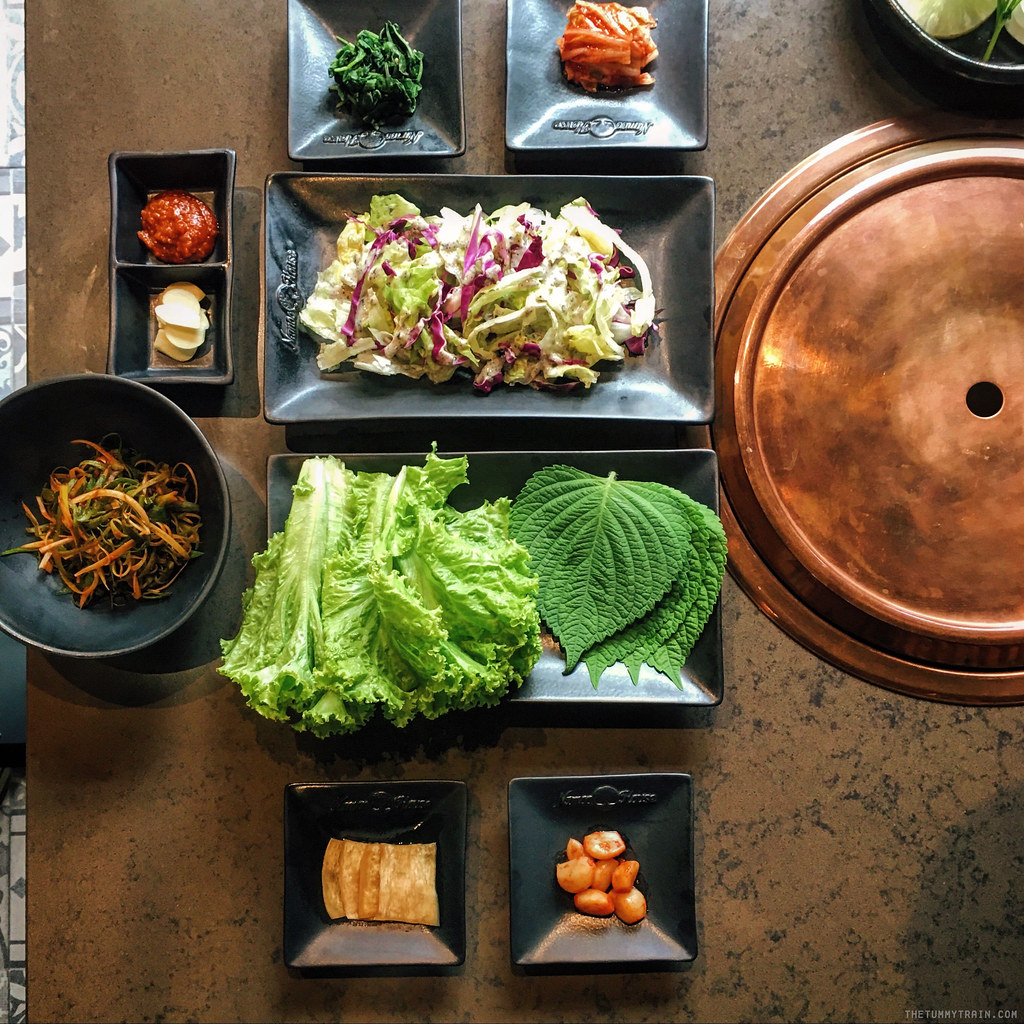 Getting a premium Korean BBQ experience at Namoo House
