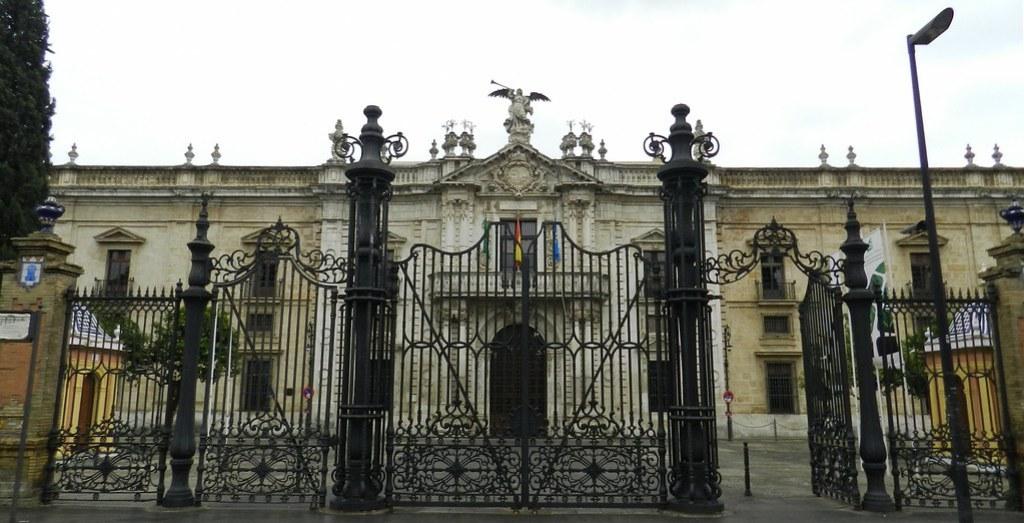 Real Fabrica de Tabacos de Sevilla Rectorado de la Universidad 05