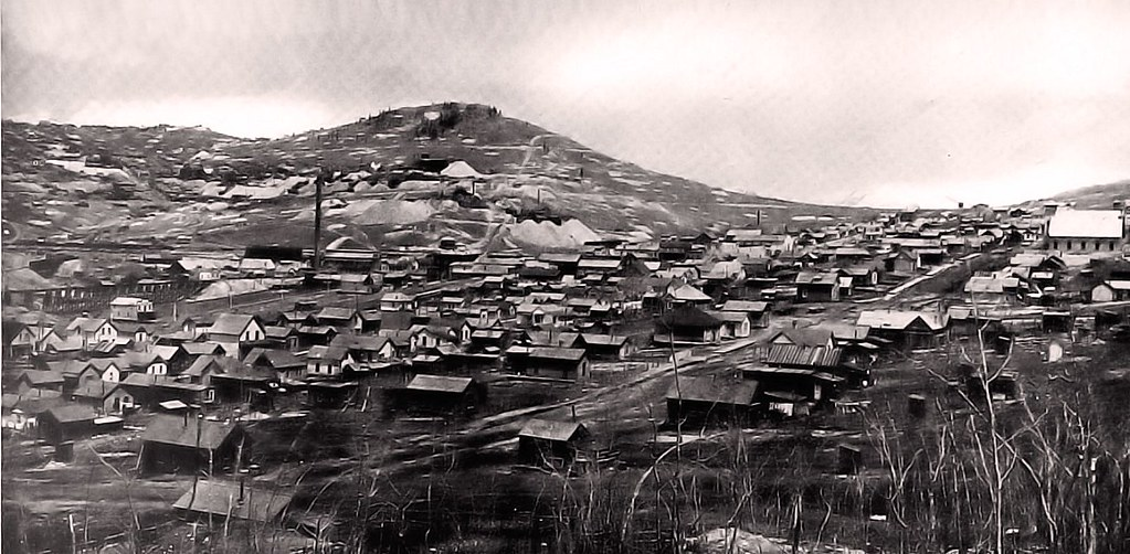 Town Of Goldfield Colorado 1900 Bull Hill And Town Of I Flickr