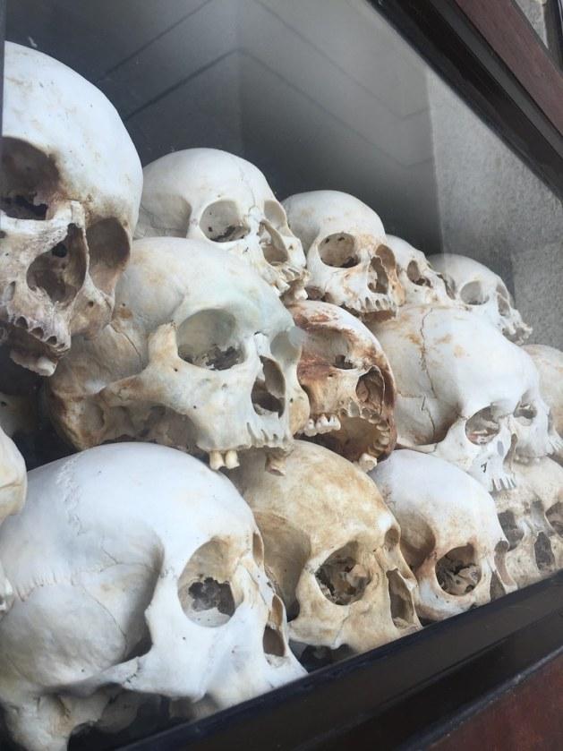 killing fields skulls phnom penh cambodia AlexExplorestheWorld