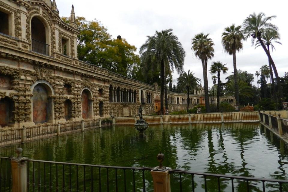 Fuente de Mercurio Real Alcázar SEvilla