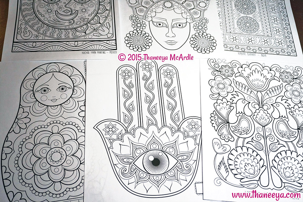 Folk Art Coloring Book By Thaneeya McArdle I Just