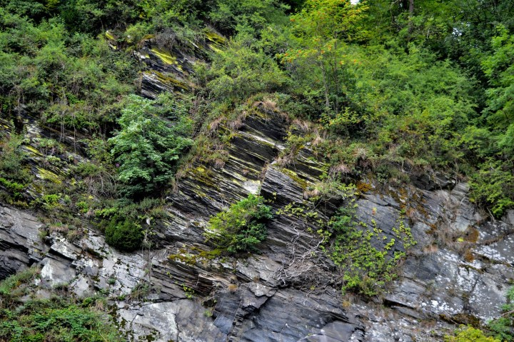 Geological feature in the German Eifel region.