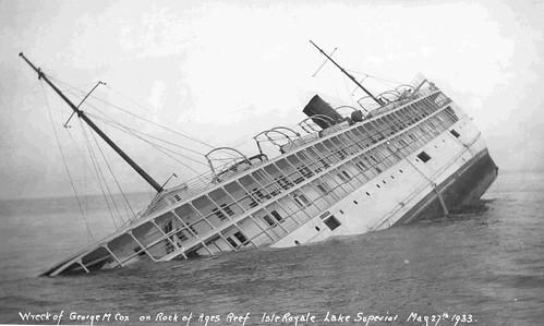 Sinking Of The SS George M Cox Date May 1933