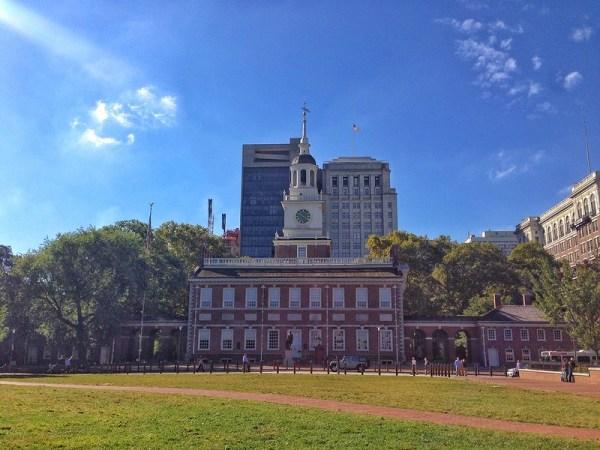 Itinerario storico a Philadelphia