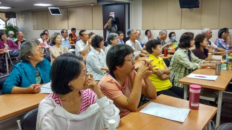 全場聽眾專注認真/照片由沈昀蒨拍攝