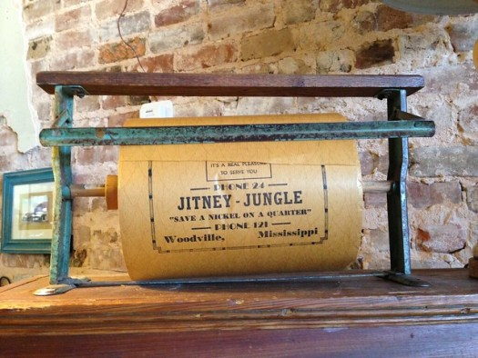 Jitney Jungle Wrapping Paper, Woodville MS
