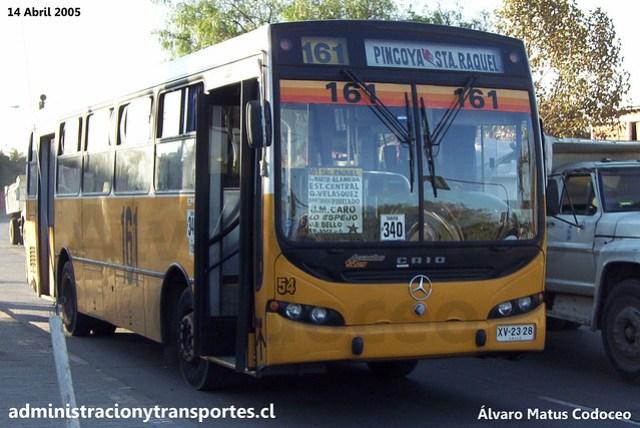 Micro Amarilla 161 | Caio Apache S21 - Mercedes Benz / XV2328