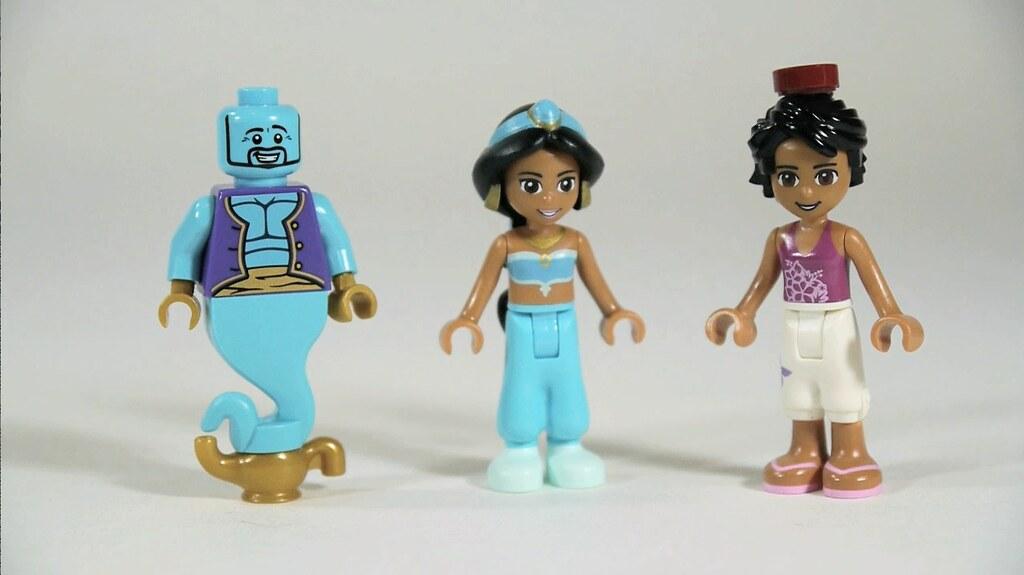 LEGO Jasmine Aladdin Amp Genie Watch My Review Www