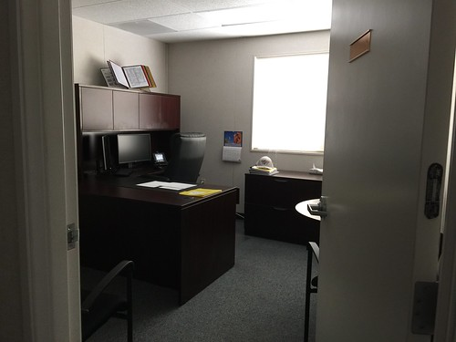 the empty office