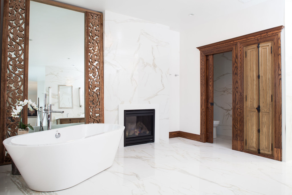 a master bathroom built for two - the houzz blog