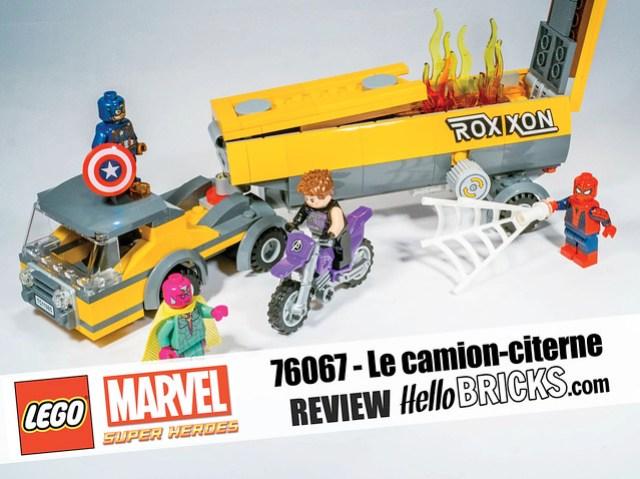 Lego 76067 Marvel HelloBricks Review
