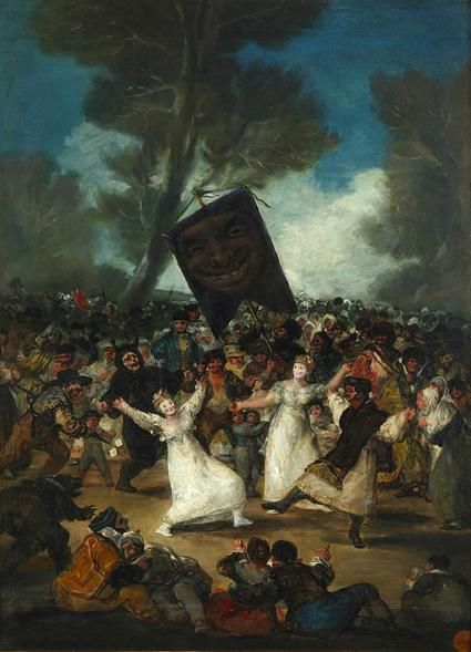16g20 Goya El entierro de la sardina Uti 425