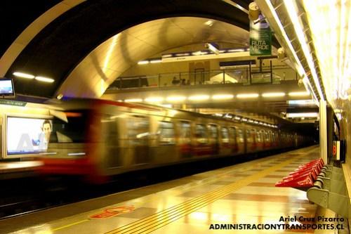 Metro de Santiago - Alstom AS2002 - Simón Bolívar (L4)